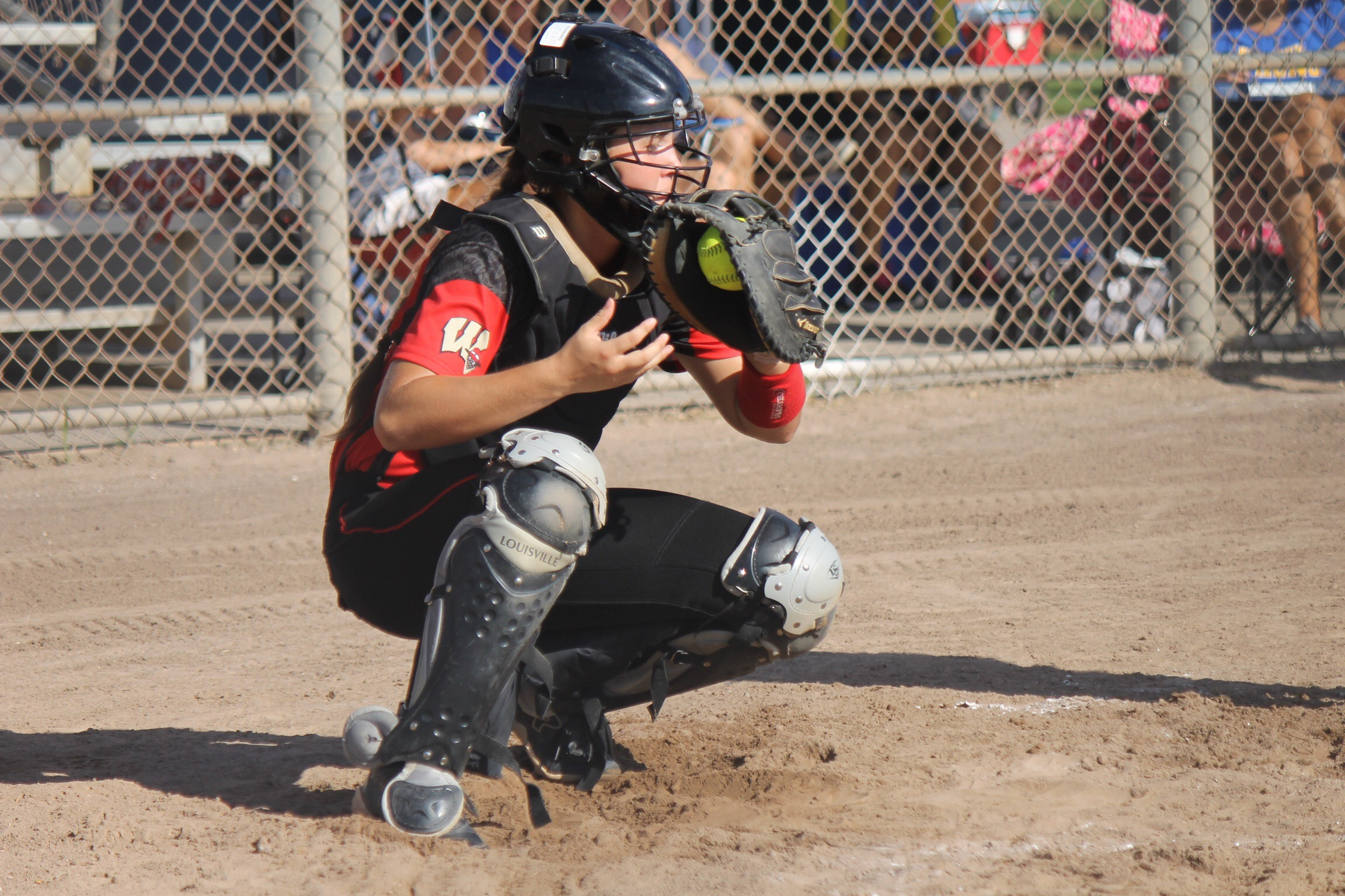 18U Red Looking for a Catcher