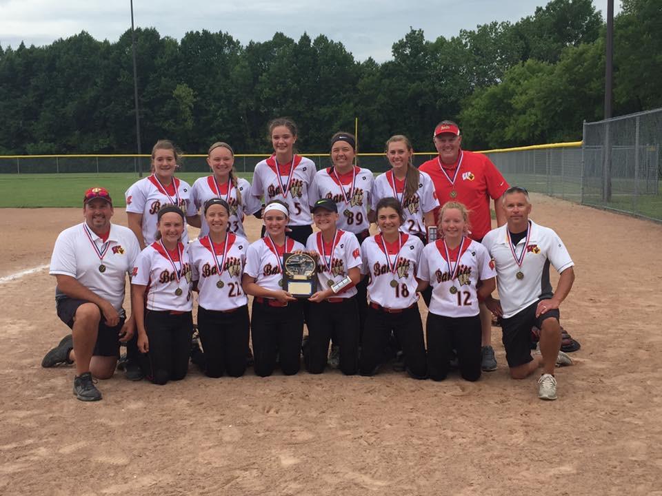 Wisconsin Bandits Black 14U wins 2016 NSA State Championship.