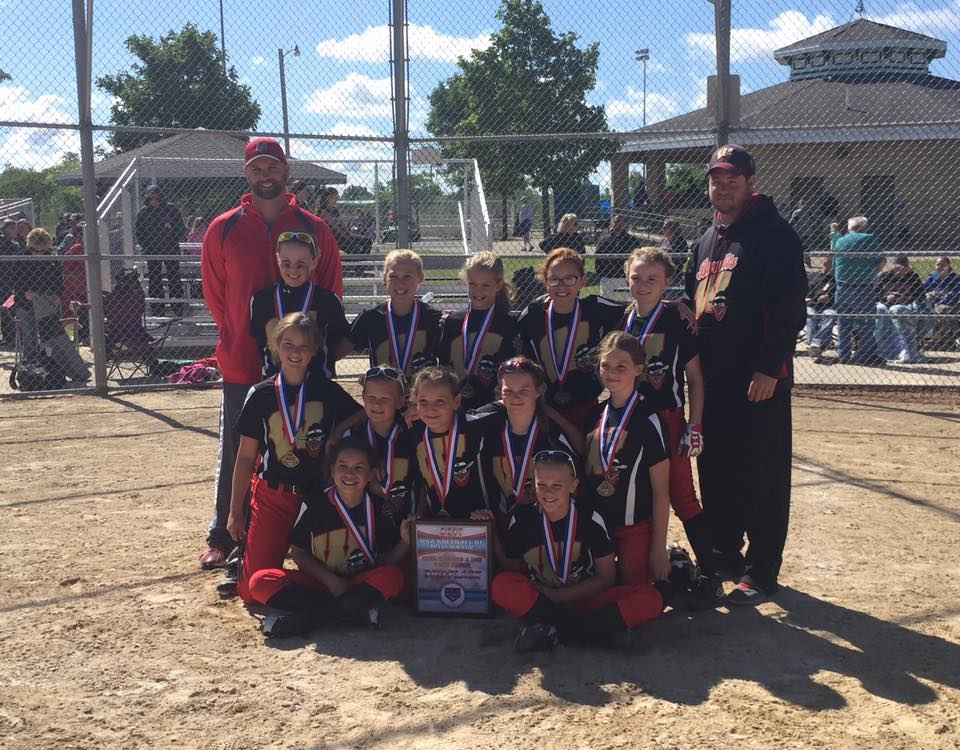 10U takes 3rd Place at ASA State