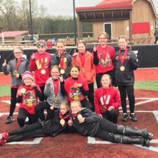 10U Bandits 1st Place Cowgirl Classic in Mauston