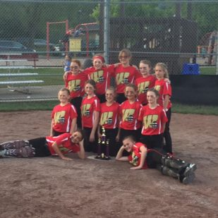 10U Bandits 2nd place Slinger tourney