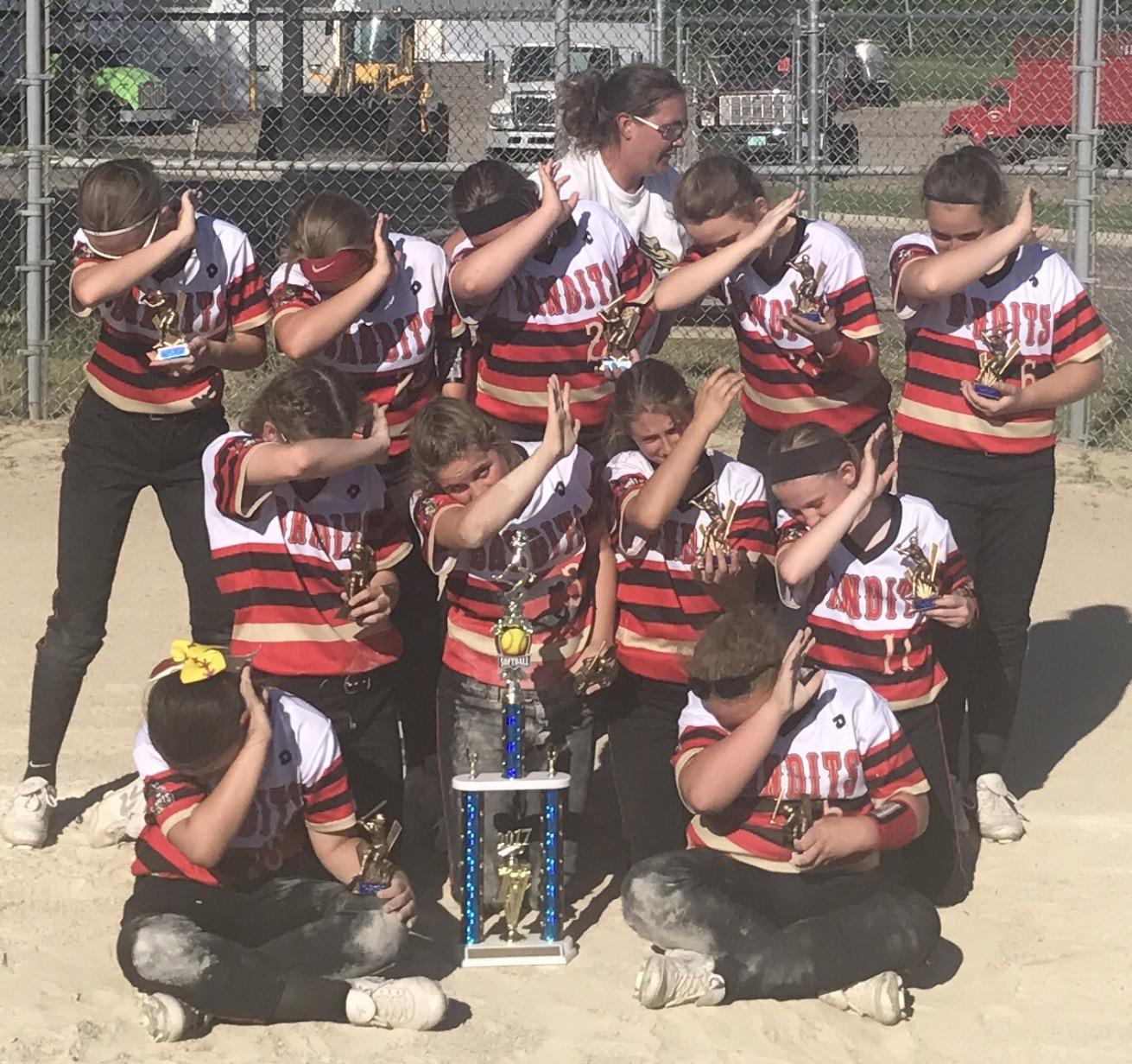 Bandits 12U Red  1st Place Marshall Tournament