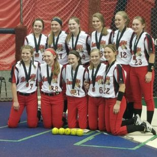 14 Bandits Black Win Honest Abe Tournament Wisconsin Dells