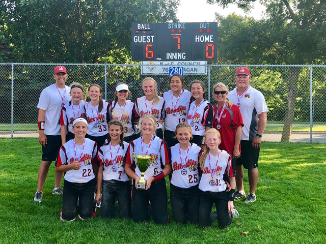 12U Bandits NAFA Northern National Champions 2018