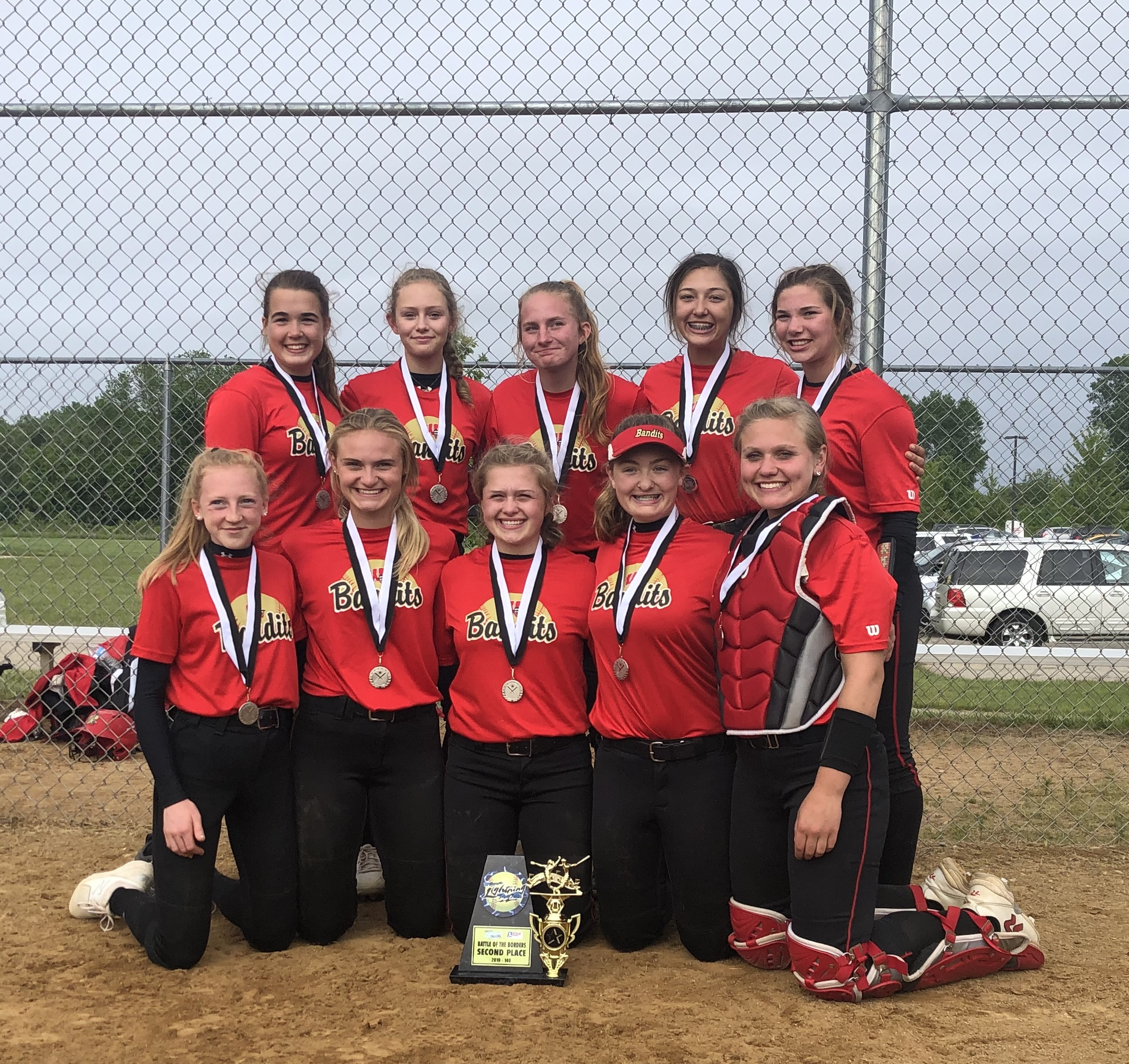 Bandits 14 Gold Runner Up at the Battle of the Boarders