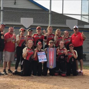 Bandits 16 Gold USA State of Wisconsin Champions